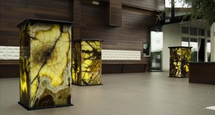 Columnas marmol Onix