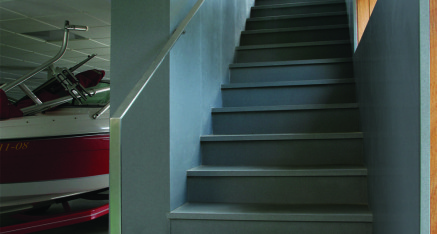 Escalera Blanco
